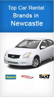 Top Car Rental Brands in Newcastle